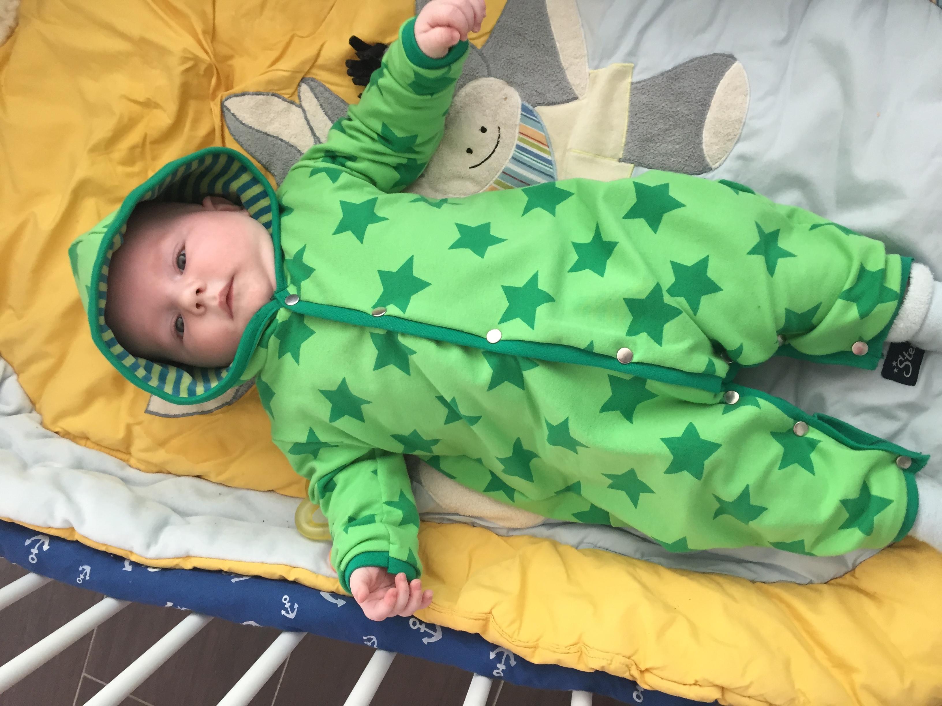 Baby Ubergangs Overall Littlecrea